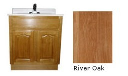 Oak cabinets are fit for your kitchen